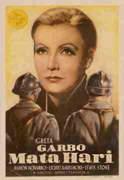 Mata hari kolossal a confronto for Greta garbo morte