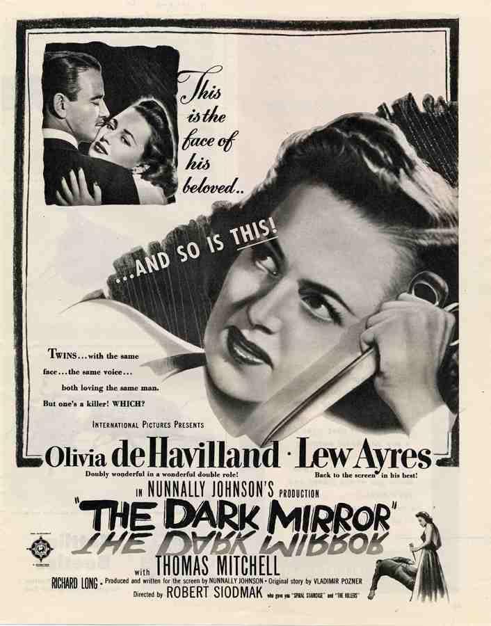 Lo specchio scuro film noir for Lo specchio scuro