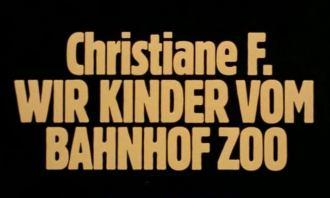 Cristiana F Noi I Ragazzi Dello Zoo Di Berlino Kolossal A Confronto
